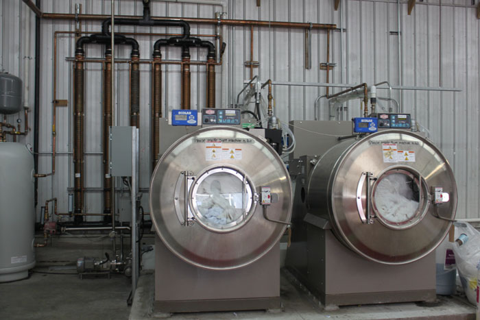 Washing Machine Thermodrain drain water heat recovery units installed commercial applications heat exchange passive