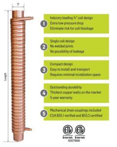 drain water heat recovery pricing